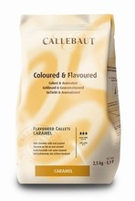 Milk chocolate caramel flavoured Callebaut