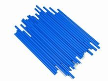 cp412b Blue lollipop sticks