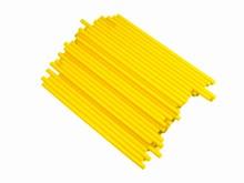 cp412y Bâtonnets à suçon jaune