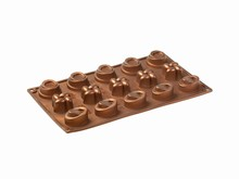 FR063 Moule Silicone mignardises assorties