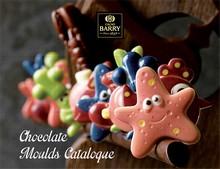 Catalogue de moules Cacao Barry Anglais