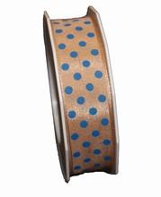 r576 uban beige pois bleu 25mm