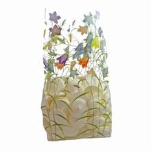 Cellophane Bag w/Pastel Lilies Print