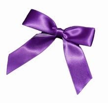 bow144 boucles violet
