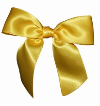 bow145 daffodil yellow bows