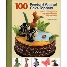 L319 100 Fondant Animal Cake Toppers by Helen Penman