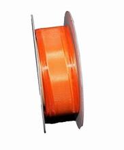 r64 Ruban Orange Organdi 25mm