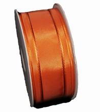 rp204 Burnt Orange Mauve stripe Ribbon