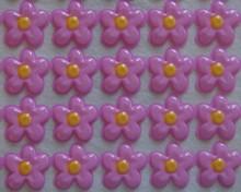 Plaque thermoformée Fleurs Roses