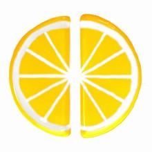 Plaque thermoformée demi citron