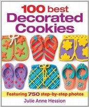 L185 100 Best Decorated Cookies by Julie Anne Hession
