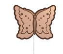 art16299 Sucette Papillons