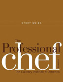 L252 The Professional Chef: The Culinary Institute of America, 8th Edition