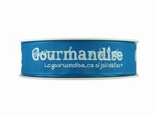 r234 Ruban 'Gourmandise' bleu