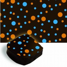 ac005 Transfer sheets blue-orange dots