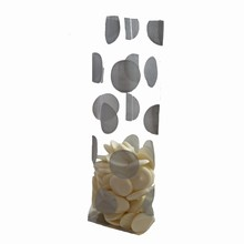 silver dots cello bags