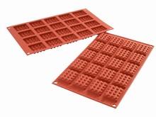 SF147 Moule silicone petite gaufre carrée