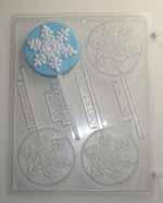 C162 snowflake lolly