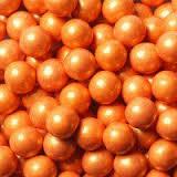 sixlets pearlized orange