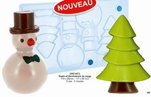 DRC2472 Christmas Tree + Snowman