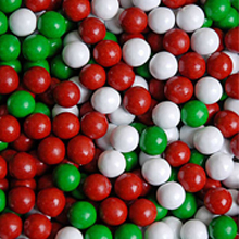 Candy Coated Chocolate Christmas Mix