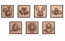 art16472 Easter Squares