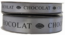 RC 118 ruban chocolat gris noir