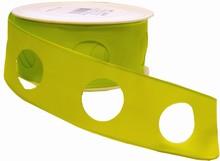 rc136 Ruban cercle vert pâle