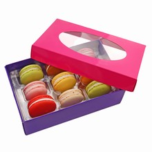 Fuchsia Macaron Box Kit with Purple Base