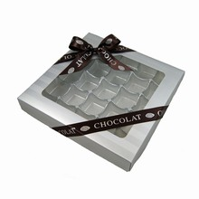 CCS207 Striped Silver 1lb square box