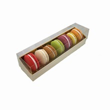 Cream Coloured Macaron 7ct Box