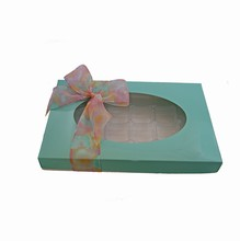 CC327 Turquoise 1lb Rectangle Box