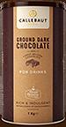 Callebaut Ground dark chocolate