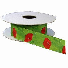 r681 Poppy Flower Ribbon