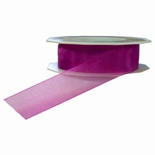 r741 Sheer Magenta Ribbon