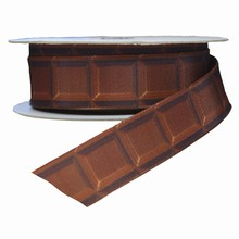Ruban motif tablette de chocolat