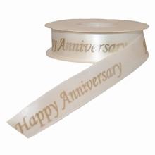 Ruban 'Happy Anniversary'