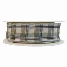r969 Soft Plaid Ribbon
