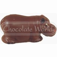H551014C Hippopotame souriant
