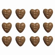 V31 Kissing Doves Heart Shaped PVC Mold