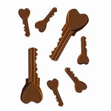 V154 The Keys to my Heart Mold