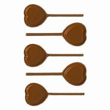 SuV26 Heart Shaped Lollipop Mold