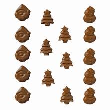 N11 Moule motifs variés de Noël