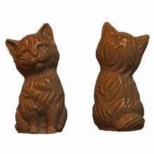A24 Cute 3D Kitten Mold