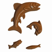 A94 Assorted Fish and Dolphin Mold