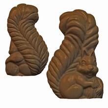 A210a and b Squirrel Mold