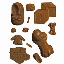 B5 Assorted Baby Accessories Mold