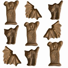 H38 Cat, Bat and Tombstone Ghost Mold