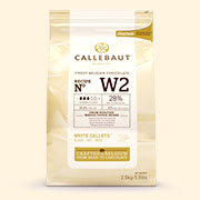Callebaut W2 White Chocolate