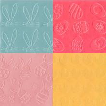 Tapis d'empreintes Pâques assortis